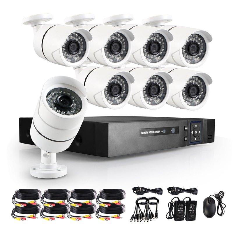 מערכת 8 מצלמות מושלמת